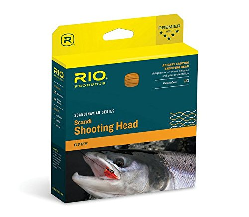 Rio Scandi Shooting Head 31Ft. 300Gr Salmon / Orange (Head Scandi)