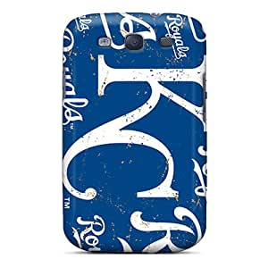 RandileeStewart Samsung Galaxy S3 Durable Hard Cell-phone Case Customized Fashion Kansas City Royals Pattern [uCE9995ZTRE]