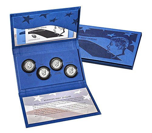 50th Anniversary Kennedy Half-Dollar Silver Coin Collection 2014 (Kennedy Dollar Half Proof)