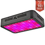 1000W LED Grow Light, Dimgogo Triple Chips Full Spectrum Grow Lamp with UV&IR for Greenhouse Hydroponic Indoor Plants Veg and Flower All Phases of Plant Growth (10W Leds)
