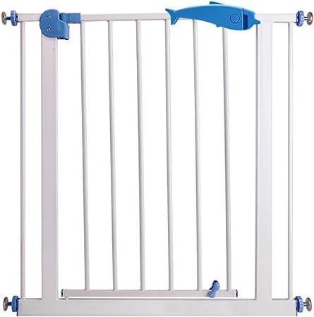 GXYAWPJ Barrera De Seguridad, Valla De Protección Infantil Escaleras Puerta Aislante para Mascotas Perforación Libre, Puerta De Cierre Automático, 75-84cm: Amazon.es: Hogar