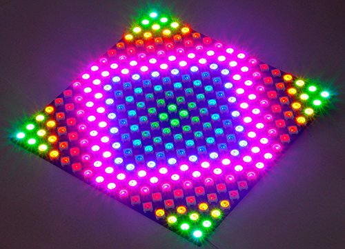 Visdoll 16x16 256 Pixels WS2812B 5050 RGB LED Panel, Individually addressable Full Dream Color LED Lamp Lighting