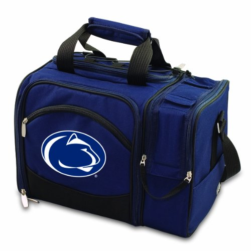 (NCAA Penn State Nittany Lions Malibu Picnic Tote with Deluxe Picnic Service for Two)