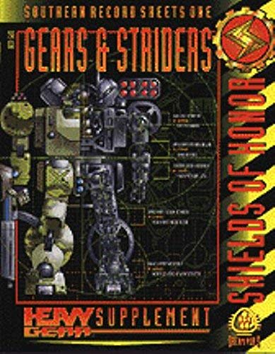 Southern Record Sheets One: Gears & Striders (Heavy Gear Supplement)