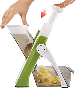 Vegetable Cutter Mandoline Slicer,ONCE FOR ALL.Food Chopper,Dicer Fruit,French Fry Julinner