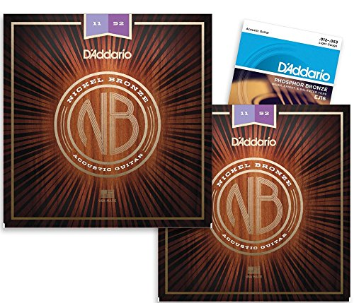 DAddario Acoustic Strings Phosphor Single Pack product image