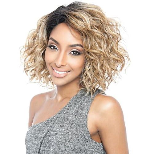 Cheap BS120 (SR1B/TEAL) - Mane Concept ISIS Brown Sugar Human Hair Blend Full Wig hot sale