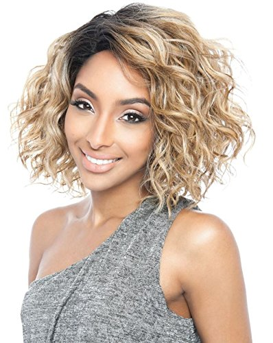 BS120 (H1B/30) - Mane Concept ISIS Brown Sugar Human Hair Blend Full Wig