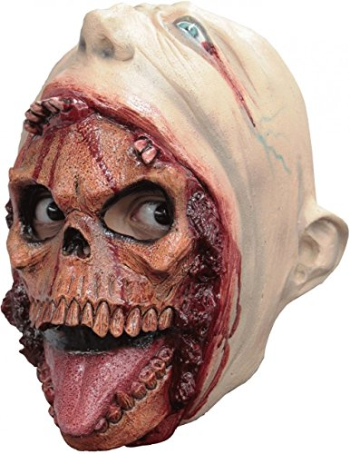 Child Size Blurp Charlie Mask Kids Scary Skull Monster Mask Halloween by Unknown (Image #1)