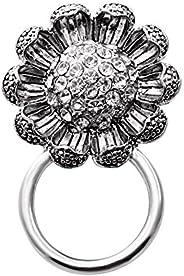 Senfai Flower Magnetic Eyeglass Holder for Unisex Adult,birthday Gift for Girlfriend,brooch