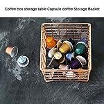 YChoice365-Porta-capsule-da-caffe-porta-capsule-da-caffe-Cesto-portaoggetti-in-metallo-Cesto-portaoggetti-da-scrivania