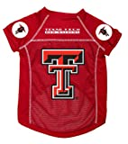 Dog Zone NCAA Pet Football Jersey, Small, Texas Tech University, My Pet Supplies