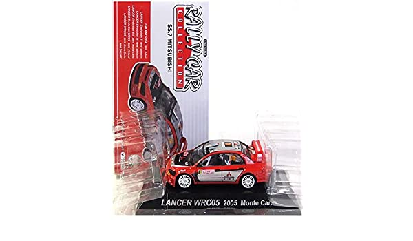 Amazon.com: CMS CORPORATION [6] CMs 1/64 Rally Car Collection SS.7 Mitsubishi Hen Part 2 Lancer Evolution WRC05 (2005 Monte Carlo) separately: Toys & ...
