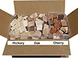 Southern Fuelwood BBQ Smoking Chunks 3 Pack - Hickory, Oak & Cherry