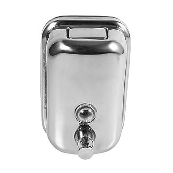 Asixx 500ml Dispensador de Jabón, Acero Inoxidable,para Usar ...