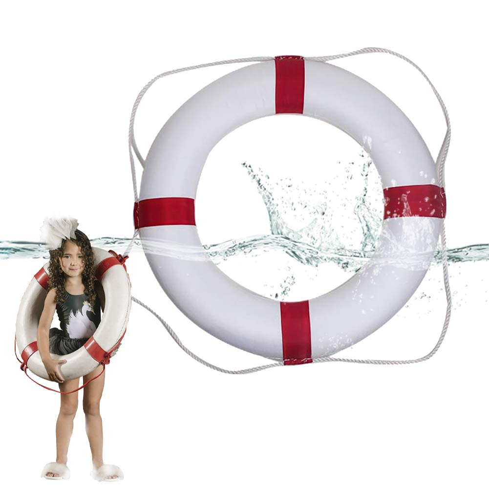 Lshylock Swim Foam Ring,Buoy Swimming Pool Safety Life Preserver with Perimeter Parent-Child Swim Ring Child red by Lshylock