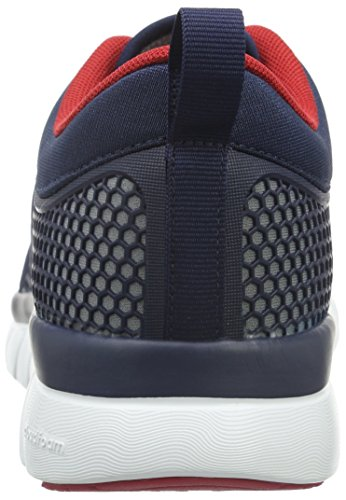 Groove Top Collegiate Herren adidas NEO Navy Ftwr Cloudfoam White Grey Low Grau wXB4wxq
