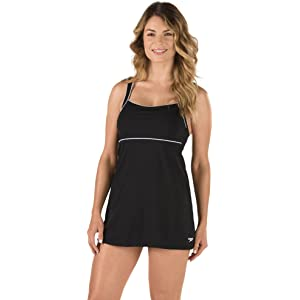 99d0a4cb0e T.H.E. Swimwear Tuffy Swimdress size 12 Royal at Amazon Women's ...
