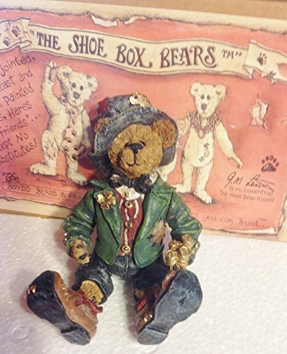 Boyds Bears Shoe Box - Boyd's Bear -The Shoe Box Bears Paddy O'beary -Luck of the Irish 3221