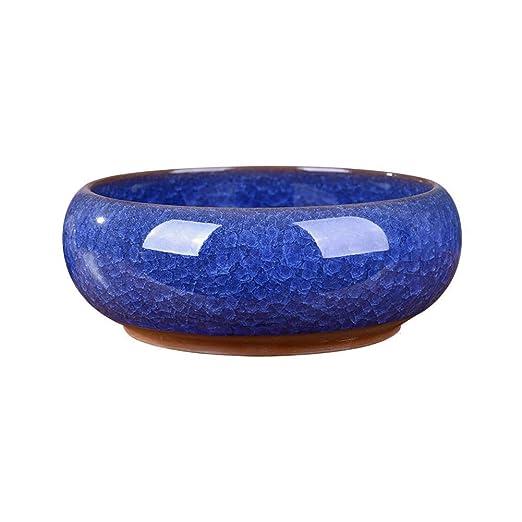 HMWPB Cenicero Antiguo Open Crack Esmalte cerámica Creativa ...