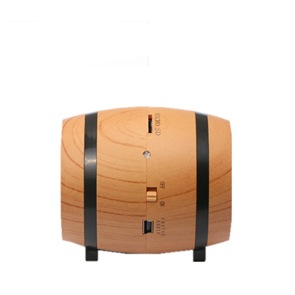 KINGEAR Double Horn Mini Portable Speaker Beer Bucket Creative Wireless Speaker with DSP Decoding MP3 and SBC Functions by KINGEAR (Image #3)