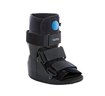 208e7ebeae Amazon.com: United Ortho Short Air Cam Walker Fracture Boot, Extra Small,  Black: Industrial & Scientific