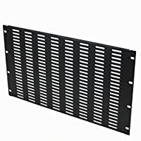 NavePoint 6U Blank Rack Mount Panel IT Server Network Spacer Slotted Venting