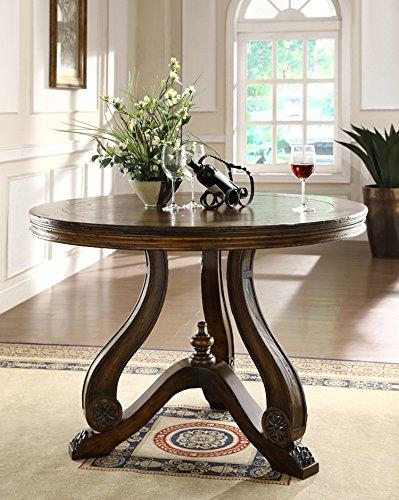 Amazon Com Tuscano 48 Round Entrance Table Kitchen Dining