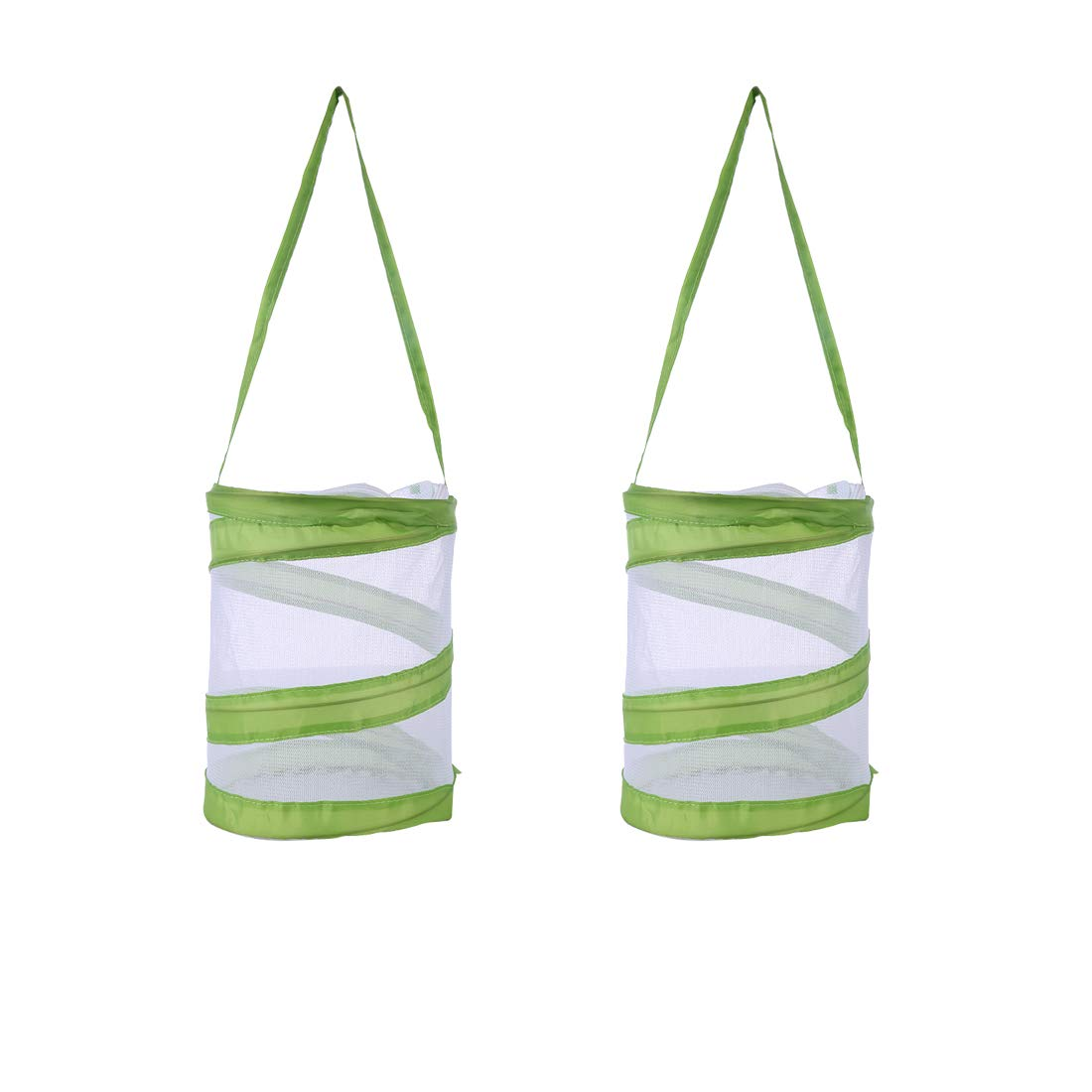 RuiyiF 2 PACK Insect and Butterfly Habitat Terrarium Pop-up Monarch Butterfly Cage Insect Growing Kits for Kids