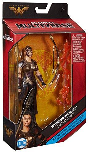 DC Comics Multiverse Wonder Woman Menalippe Figure, 6″