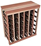 Wine Racks America Redwood 36 Bottle Table Top. 13 Stains to Choose From!
