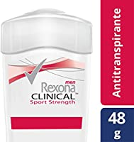 Antitranspirante Rexona Men Clinical Sport Strenght en crema 48 g