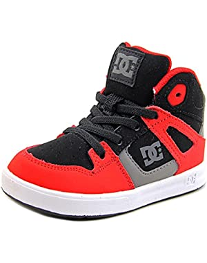 Shoes Rebound UL Toddler Round Toe Leather Red Skate Shoe