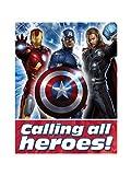 Avengers Invitations w/ Envelopes (8ct)