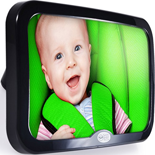 Safe Baby Tech Baby Car Mirror, Crystal Clear Reflection