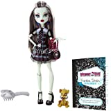 Monster High Frankie Stein Doll with Watzit pet