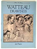 img - for Drawings (Dover att library) by Jean Antoine Watteau (1986-04-21) book / textbook / text book