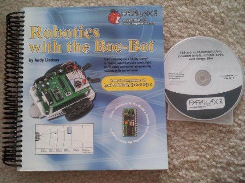(PARALLAX BOE-Bot Robot Kit - Serial -)