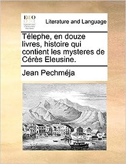Amazon Fr Tlephe En Douze Livres Histoire Qui Contient