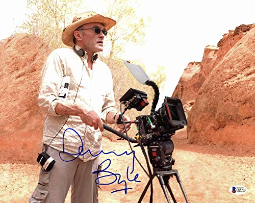 Danny Boyle 127 Hours Authentic Autographed 11x14 Photo Autographed - Beckett Authentic