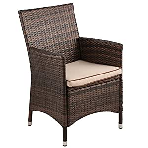 Danube Home Furn Im Ztl Chair - Brown/Beige