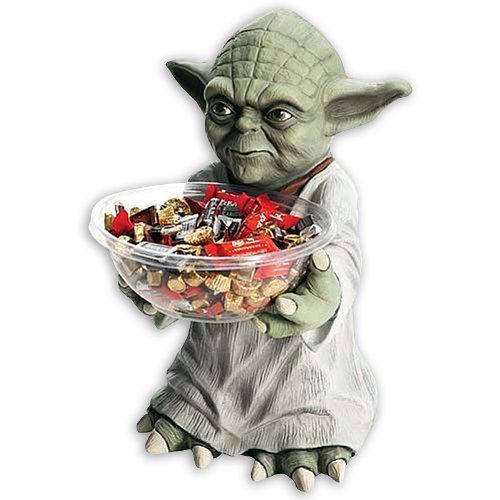Yoda Candy Bowl Holder Decoration (Yoda Bowl)