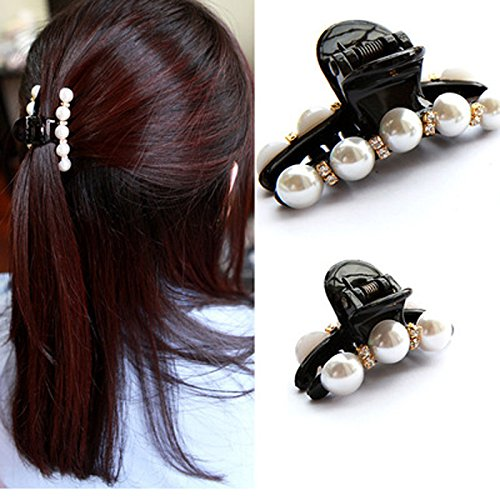 3Pcs Hair Clips Hairpins Hair Claw Crystal Rhinestone Pearl arrette Hairclip Hair Accessories Headwear raider Hair Ornaments ig