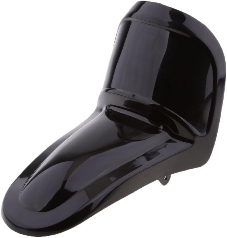 Gazechimp Garde-Boue De Moto pour Yamaha PW50 PW 50 Y-Zinger 1997 Noir
