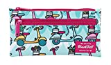Blackfit8 'Scooter' Official School Pencil Case with Double Zip