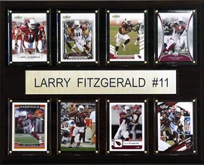 NFL Larry Fitzgerald Arizona Cardinals 8 Card Plaque