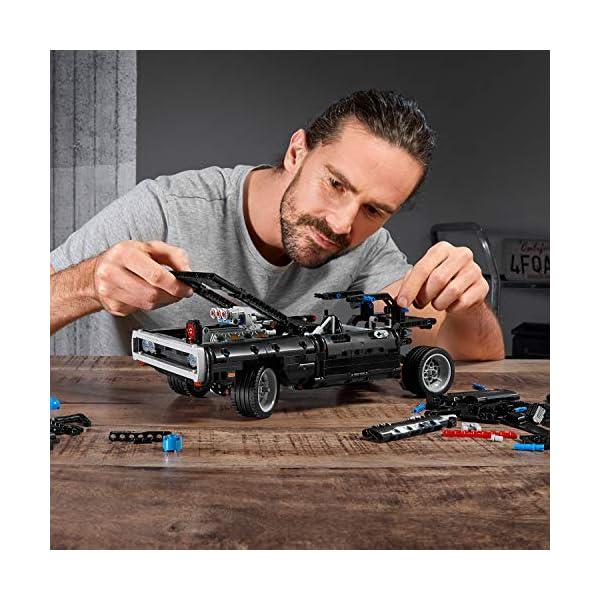 LEGO Technic Dom's Dodge Charger per Ricreare le Scene di Fast and Furious, Avventure ad Alta Velocità, Idea Regalo per… 6 spesavip
