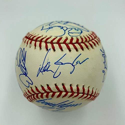 2000 Chicago Cubs Team Signed MLB Baseball Sammy Sosa With COA - PSA/DNA Certified - Autographed Baseballs
