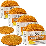 Proudly Pure Parmesan Cheese Crisps Keto Friendly Low Carb Snacks, Healthy Diet Food Crackers 100% Natural Aged Cheesy Parm Chips Crunchy Gluten/Wheat & Soy-Free (Original Flavor 10oz 4 Pk) For Sale