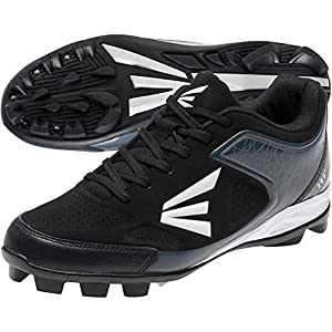 Easton 360 Youth Baseball Cleats - Black/Charcoal (5.0)
